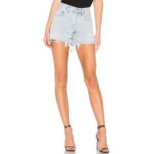 "Agolde | ""Dee"" Ultra High-rise Denim Shorts"